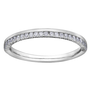 Offset Diamond Band