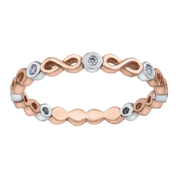 Infinity Diamond & Rose Gold