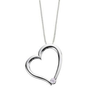 Canadian Diamond 10kt Gold Heart