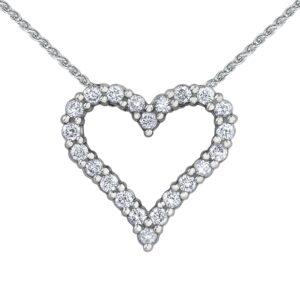 Envy Diamond Heart Necklace
