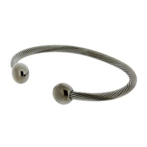 Gun Metal Deluxe Qray Bracelet