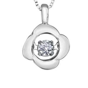 Tempo Diamond Flower Pendant