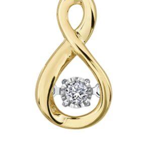 Tempo Inifnity Diamond Pendant