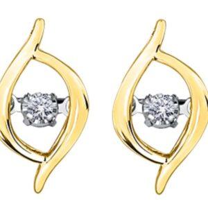 Tempo Diamond Earrings