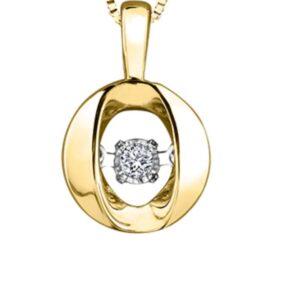Tempo Diamond Pendant